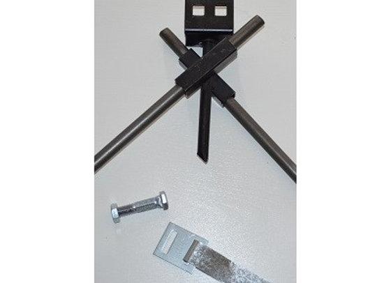 Cross Drive Anchor Complete W/ Strap & Split Bolt