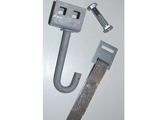 J-Hook Anchor Complete W/ Strap & Split Bolt