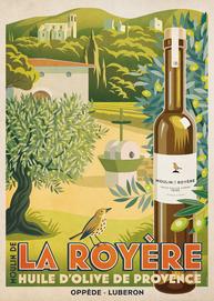 Affiche Moulin de la Royère