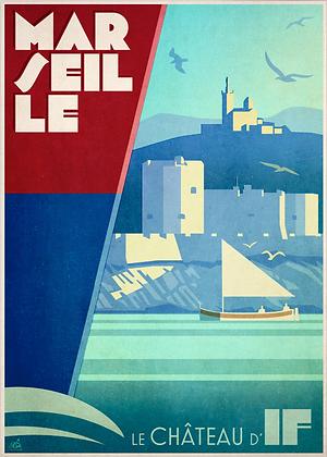 Marseille, le château d'If