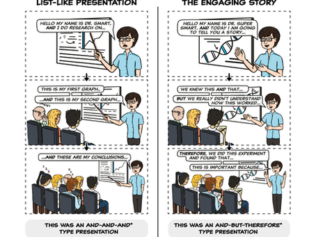 Tell Them a Story: How to Avoid the Standard Boring Presentation