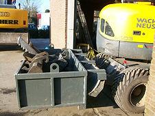 transportkasse til gravemaskine