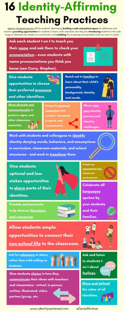 16 Identity-Affirming Teaching Practices