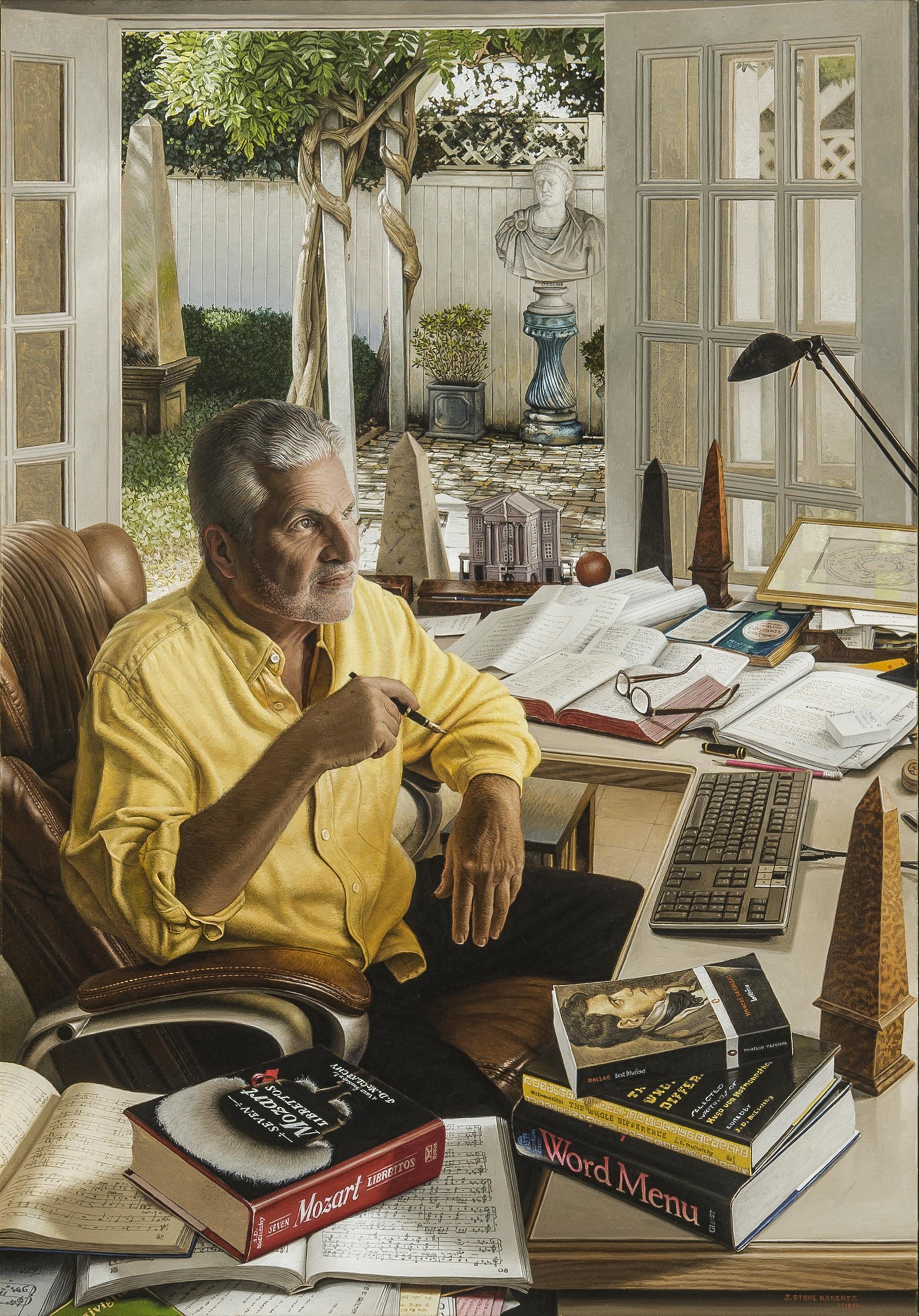 PORTRAIT OF J. D. McCLATCHY ( 2010/11)