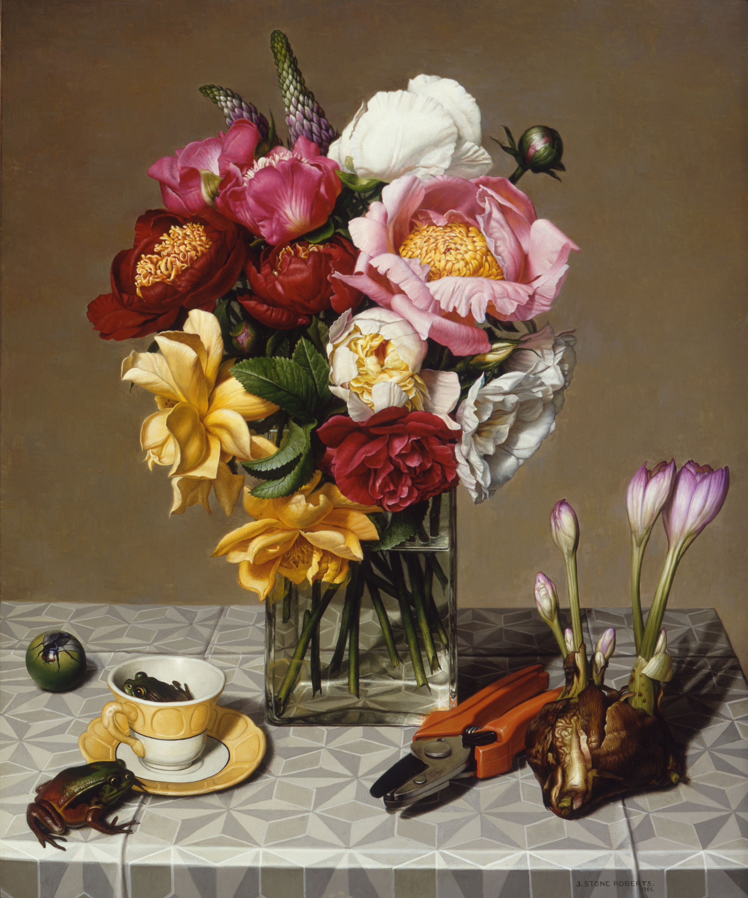 FLOWERS, FROGS AND COLCHICUM (1995)