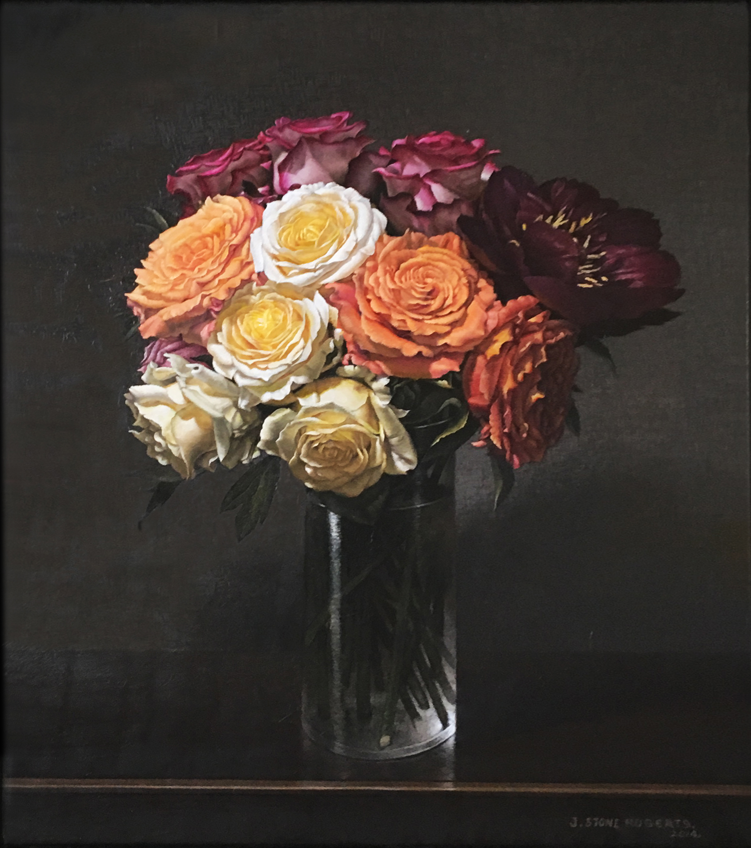 A VASE OF FLOWERS (2014)