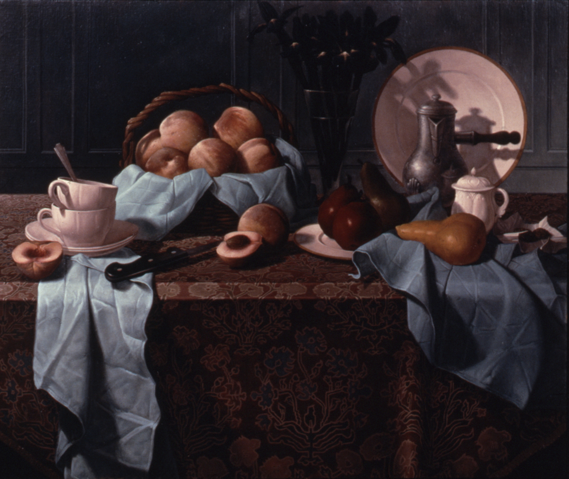 BLUE CLOTH STILL LIFE (1984)