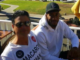 Kawhi Leonard, NBA Super Star Visits Restaurateur Antonio Mecheri at C'est La Vie Restaurant for