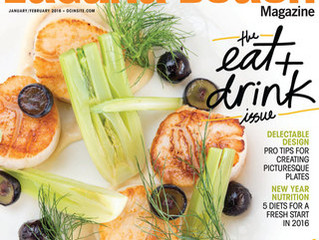 Restaurateur Antonio Mecheri Featured in Laguna Beach Magazine, C'est La Vie Restaurant, Laguna