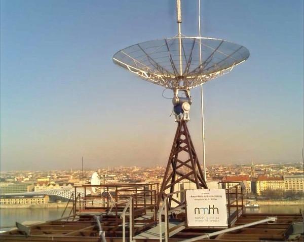 Renewed satellite control station of Budapest University of Technology and Economics