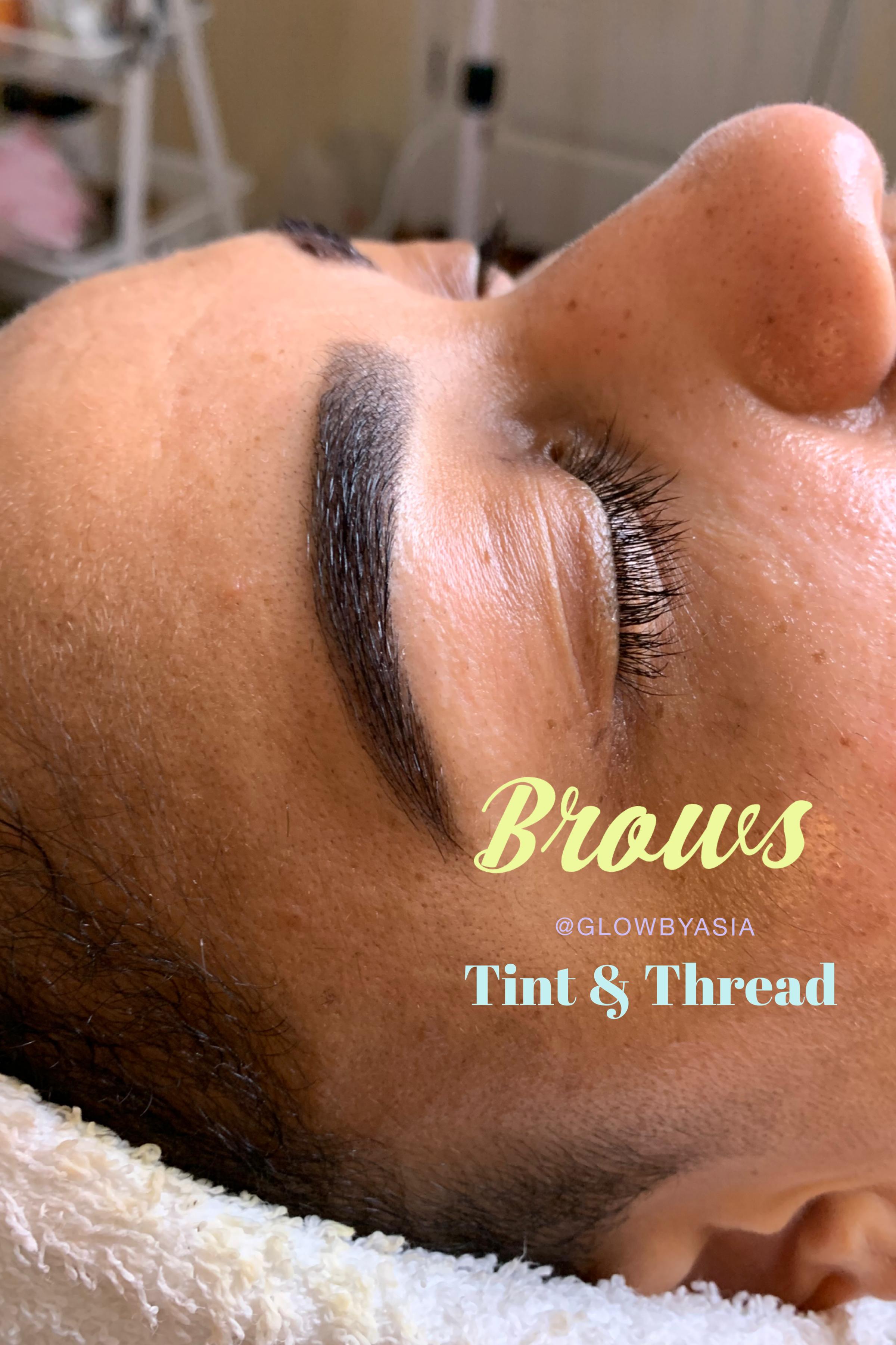 Brow Tint & Thread