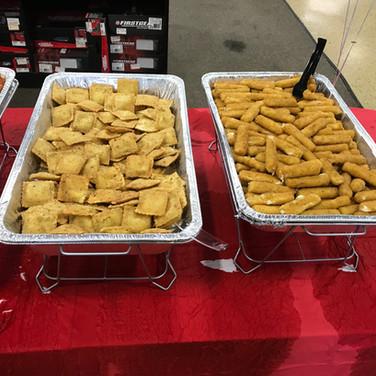 Fried Ravioli & Mozzarella Sticks