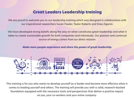 Join our Leadership development-program this fall!