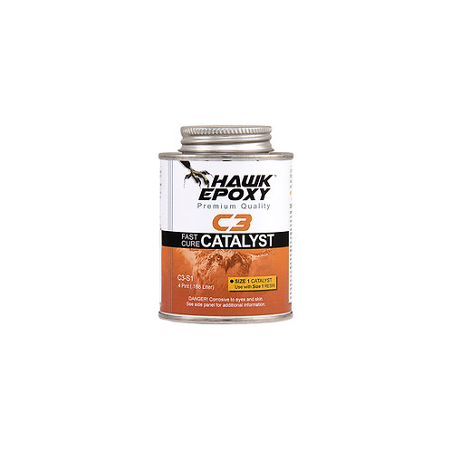 Hawk Epoxy C3 Fast Cure Catalyst - Compare to West System 205
