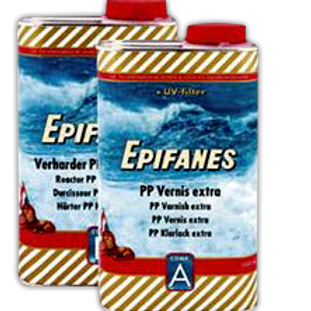Epifanes PP Varnish Extra  2-Liters; 2-Part, Clear