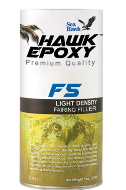 Hawk Epoxy F5 Light Density Fairing Filler - Compare to West System 407