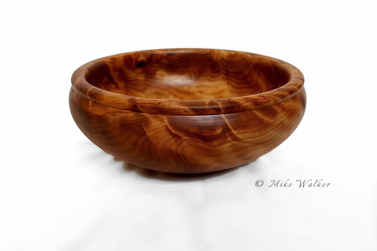 Rimu Burl Bowl