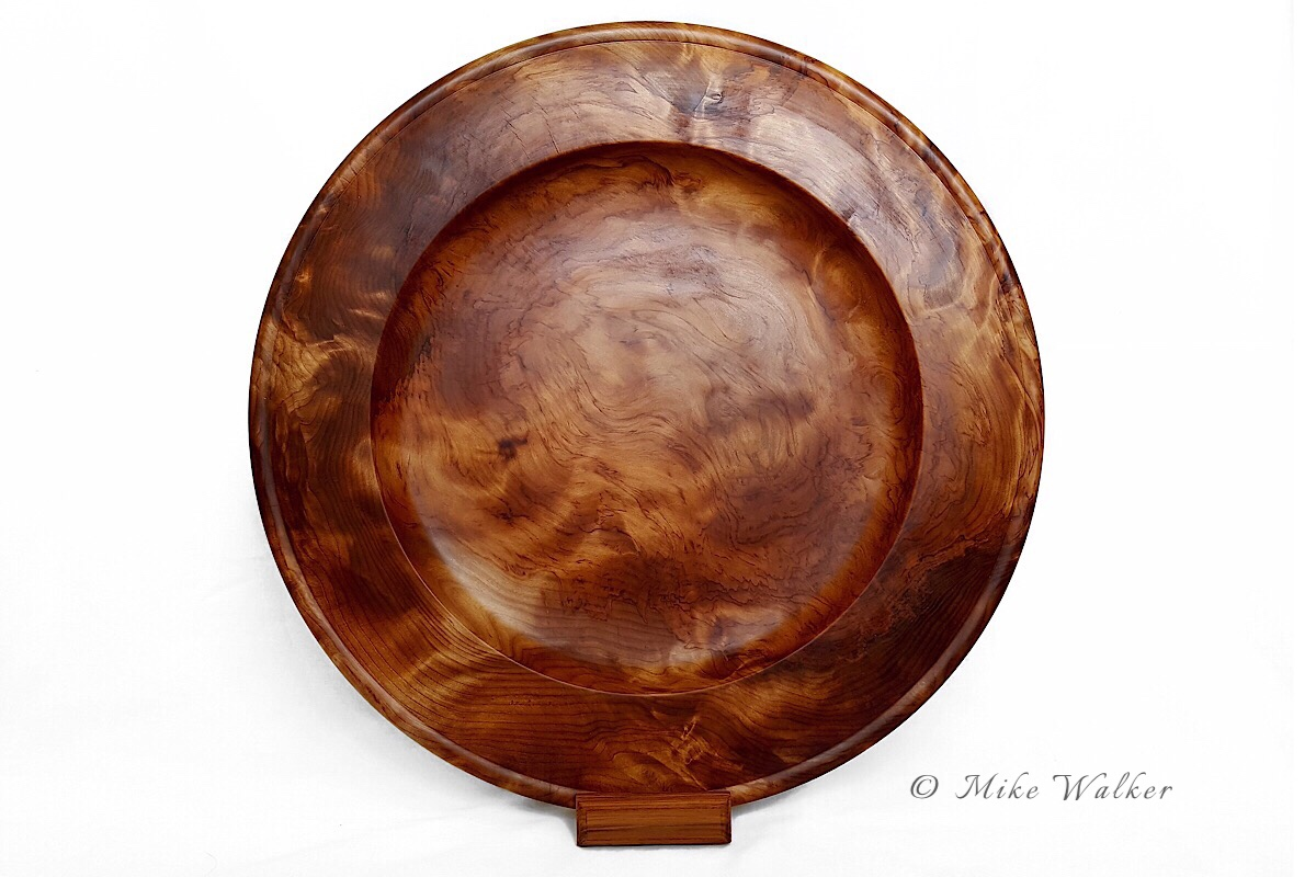 Rimu Burl Platter