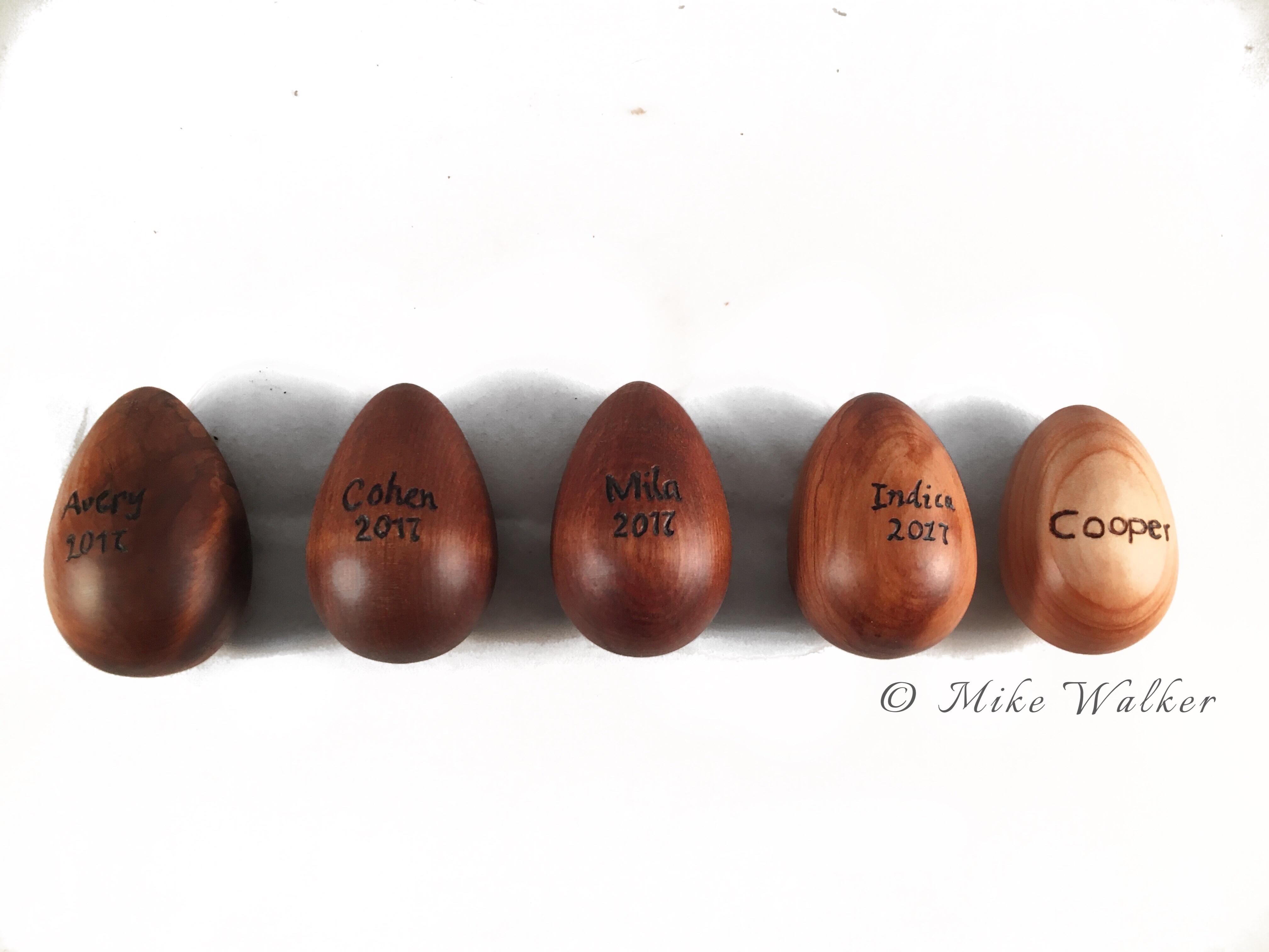 Easter Eggs named