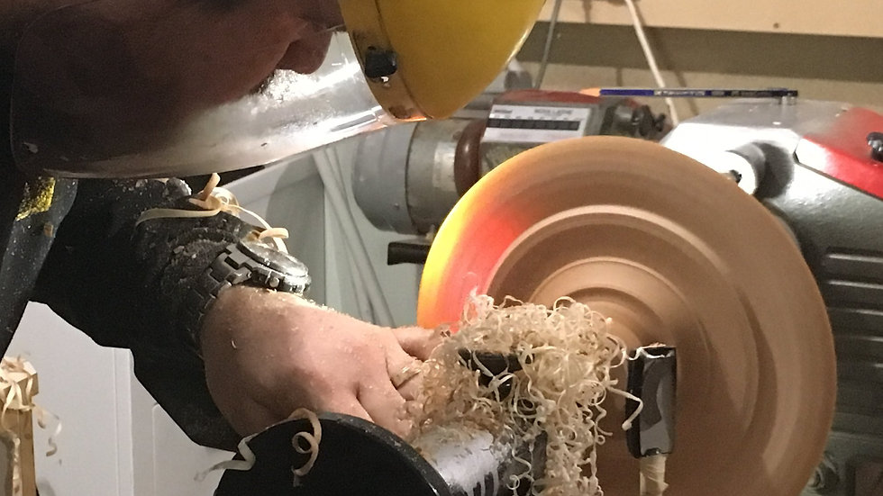 1 Hour Woodturning Tuition