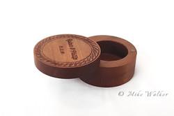Rimu Ring Box