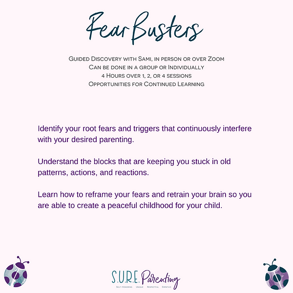 Fear Busters Parenting Class