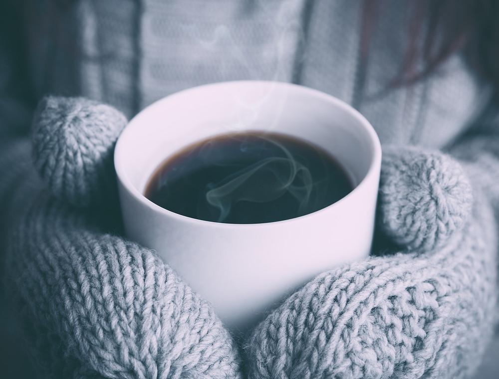 hot coffee self care