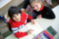 Montessori kindergarten children