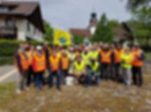 Clean Walker Session 1. Mai 2018 in Volk
