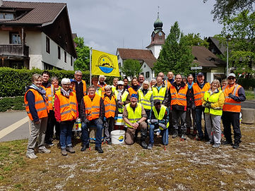 Clean Walker Session 1. Mai 2018 in Volk