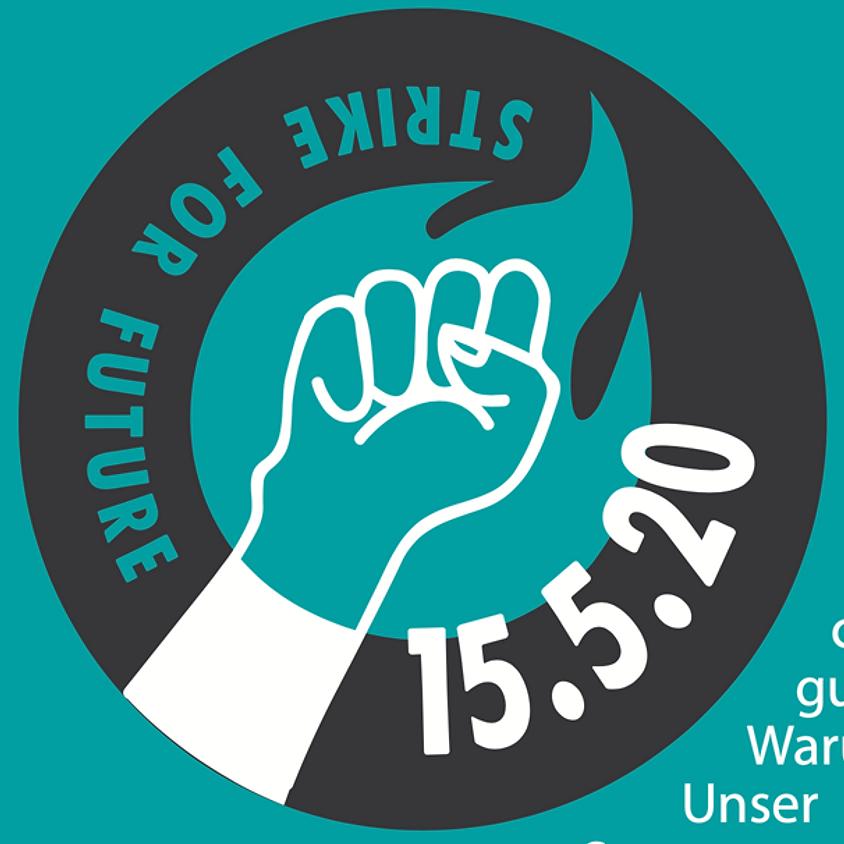 Freitag 15. Mai 2020 Klima-Grossdemo in Zürich