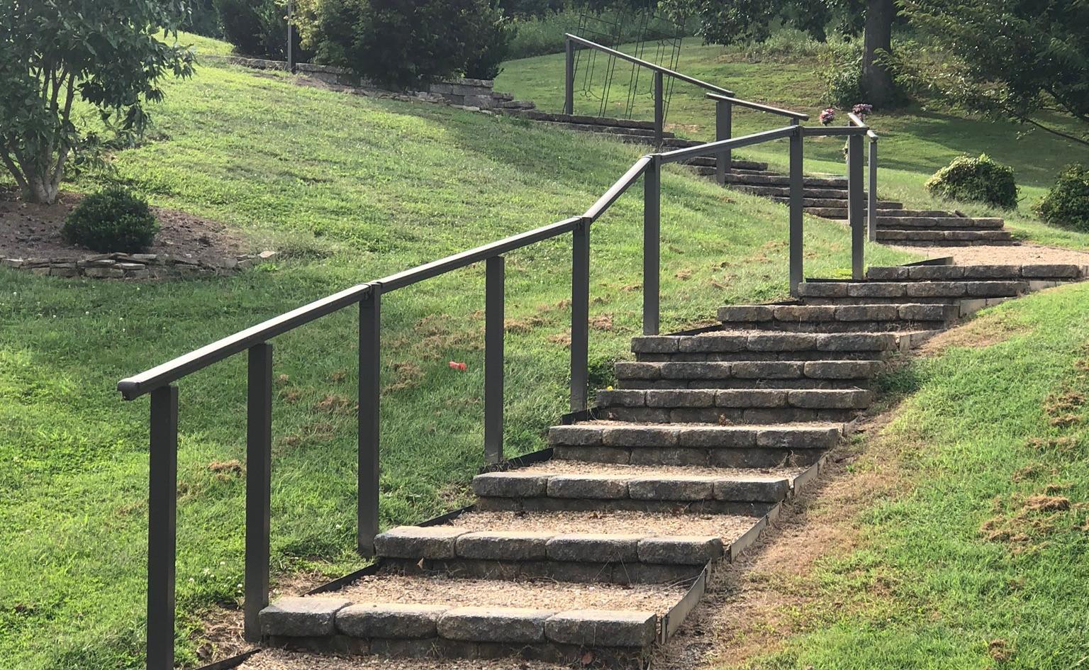 Memorial Grove staircase