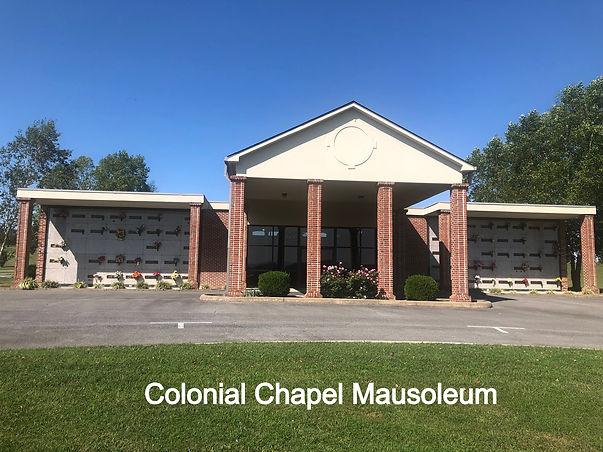 Colonial Chapel Mausoleum