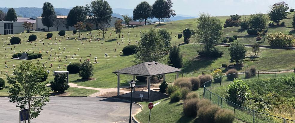 Overlooking Memorial Grove