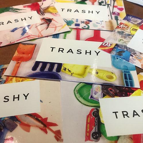 Trashy Postcard Set