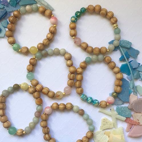 Everyday Peace Stretch Bracelet