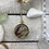 Thumbnail: Tide Pool Pendant in Round, Deep, Gold
