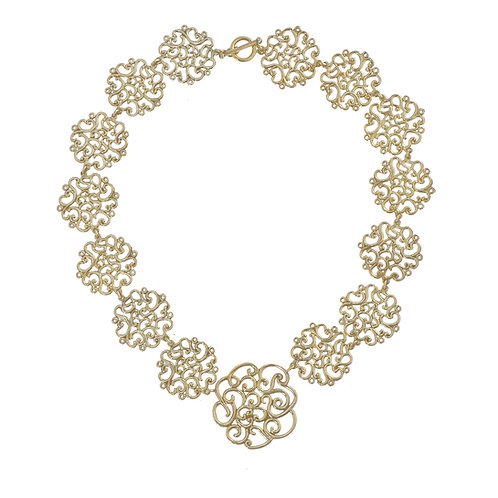 Coralie Flowers Necklace