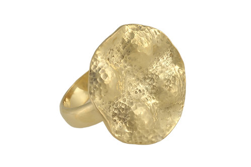 Europa Gold Vermeil Ring