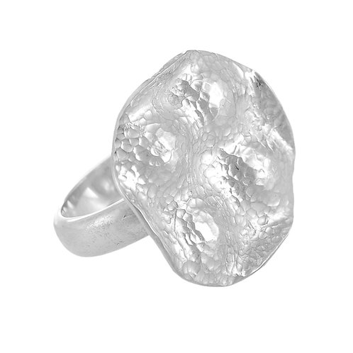 Europa Silver Ring