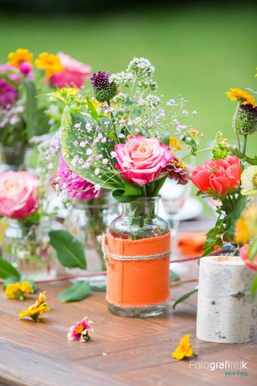 Blumen   Hochzeit   Farbenfroh