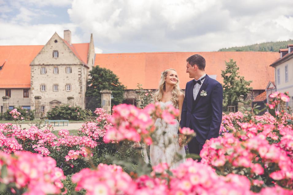 Kolster Haydau | Rosen | Brautpaar
