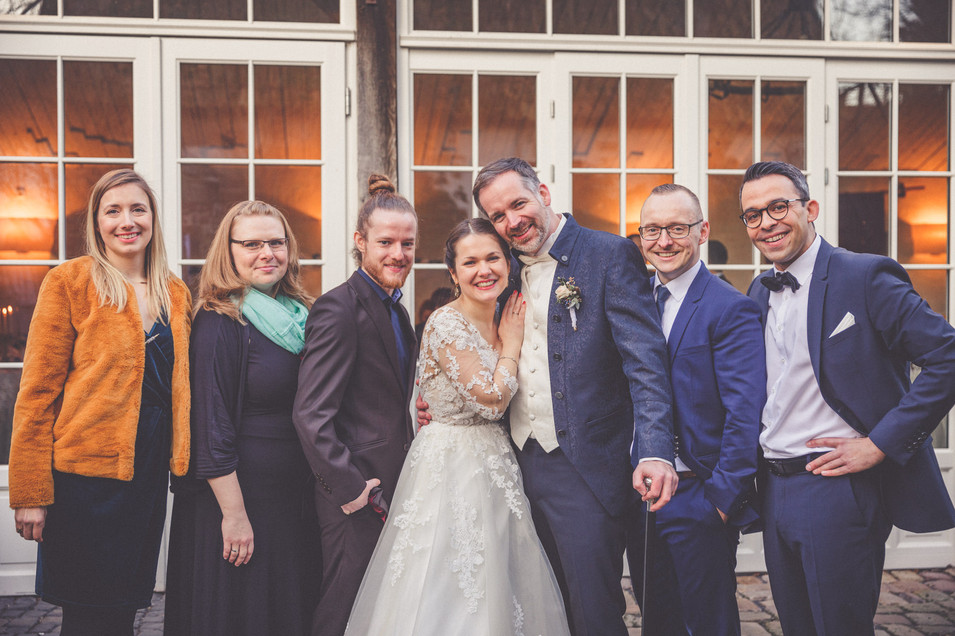 Trauzeugen | Freunde | Familie