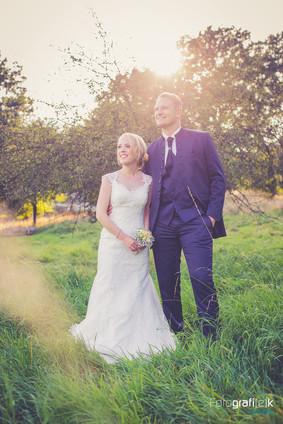 After-Wedding Shooting | Brautpaar | Sonnenuntergang