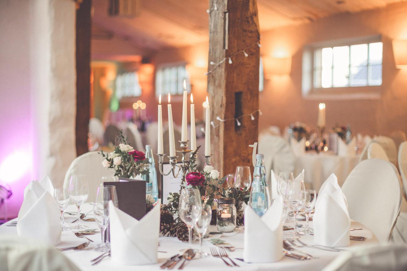 Kerzen | Dekoration | Hochzeit