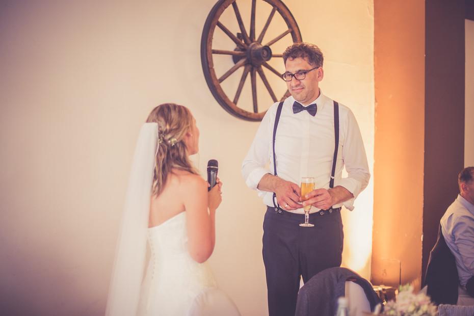 Sekt | Rede | Hochzeitsfeier