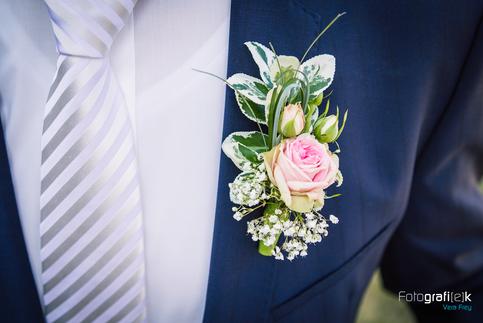 Blütenanstecker | Bräutigam | Hochzeitsanzug