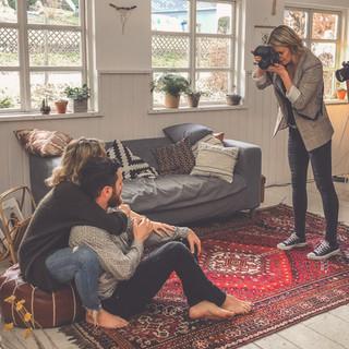 Behind the scenes Fotografin Kaufungen