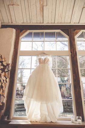 Brautkleid | Vintage | Fenster