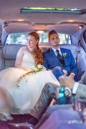Limousine | Brautpaar | Hochzeitsauto